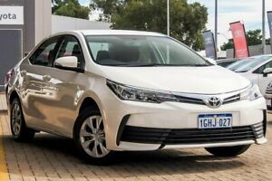2017 Toyota Corolla ZRE172R Ascent S-CVT White 7 Speed Constant Variable Sedan Morley Bayswater Area Preview