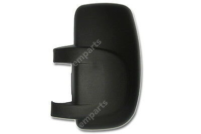Renault Master Door Wing Mirror Cover 2003  2010 MK2 MKII Left Side NS Black