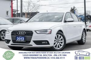 2013 Audi A4 2.0T AWD QUATTRO LEATHER SUNROOF CERTIFIED CLEAN