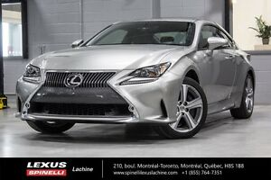 2016 Lexus RC 300 AWD: CUIR TOIT CAMERA $5,408 SAVING FROM MSRP
