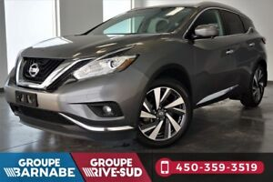 2016 Nissan Murano PLATINUM ** CUIR NAVIGATION ** LEATHER * PANO