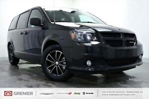 2018 Dodge Grand Caravan GT+CUIR+BLACK ON BLACK GT+CUIR+BLACK ON