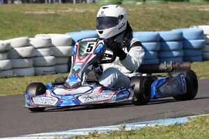 Arrow AX3 Junior Kart + Enclosed Trailer Coal Point Lake Macquarie Area Preview