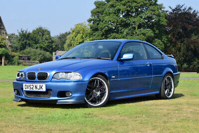 2002 BMW E46 330Ci *Clubsport* 3 Series Coupe Manual M54 Estoril Blue not M3 FSH