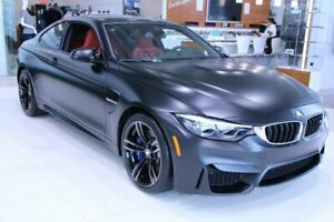 2018 BMW M4 Coupe ,Noir Mat, M transmission et suspension