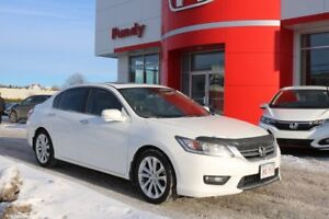 2014 Honda Accord TOURING LOCAL TRADE AND SERVICED HERE!