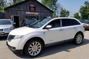2011 Lincoln MKX AWD NAVIGATION PANORAMIC ROOF