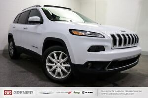2017 Jeep Cherokee LIMITED+TOIT PANO+CUIR+V6+4x4 LIMITED+TOIT PA