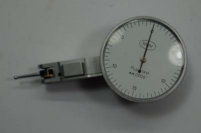 Nos Mahr Puppitast Germany Dial Test Indicator. 0.0005 Grad. No1d2