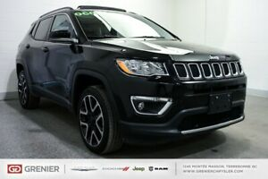 2018 Jeep Compass Limited+TOIT PANO+CARPLAY Limited+TOIT PANO+CA