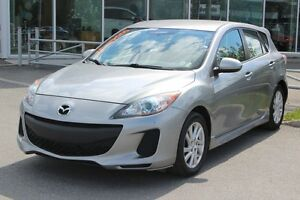 2012 Mazda Mazda3 GS*MAN*BLUETOOTH*AC*CRUISE*SIEGES CHAUFF* GR E