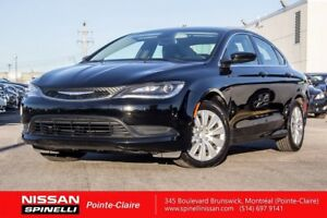 2015 Chrysler 200 LX FULLY EQUIPPED / LOW KM / CLÉ INTELLIGENT