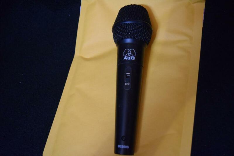 AKG D2300S MICROPHONE  MADE IN AUSTRIA