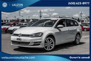 2016 Volkswagen Golf SportWagen Highline+tech package+toit+cuir