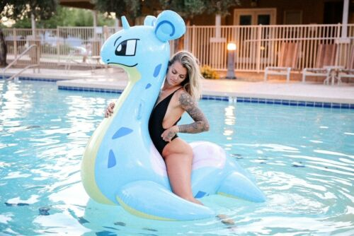 5 foot inflatable Pokemon Lapras Pool Float