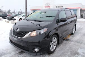 2014 Toyota Sienna SE 8 PASSAGERS MAGS TOIT CUIR BLUETOOTH CAMER