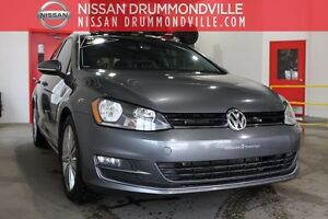 2015 Volkswagen Golf TSI HIGHLINE -VRAI CUIR - TOIT PANO - GARAN