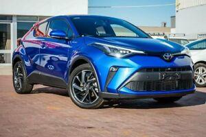 2020 Toyota C-HR NGX50R Koba S-CVT AWD Blue 7 Speed Constant Variable Wagon