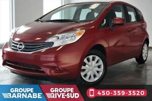 2014 Nissan Versa Note SV + BLUETOOTH + GROUE ELECTRIQUE + CRUIS