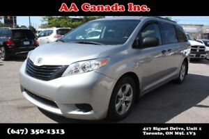 2015 Toyota Sienna LE 8 PASS | ACCIDENT FREE | CANADIAN