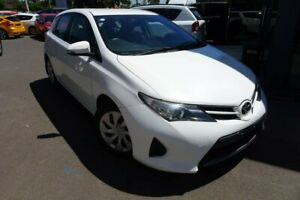2013 Toyota Corolla White Constant Variable Hatchback Hoppers Crossing Wyndham Area Preview