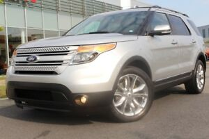 2014 Ford Explorer LIMITED + CUIR + NAV + 7 PASS +AWD + CAMÉRA R