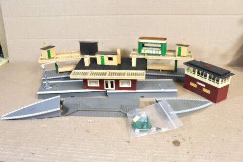 TRIANG HORNBY R585 R460 R464 STATION PLATFORM CANOPY TICKET OFFICE END RAMPS 1ny