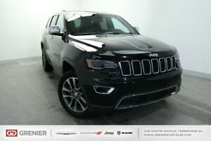 2018 Jeep Grand Cherokee SPECIAL DEMO! LIMITED+CUIR+TOIT+NAV+MAG