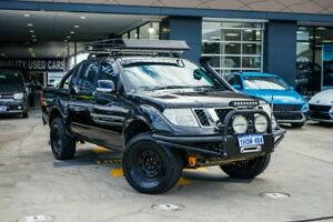 2012 Nissan Navara D40 S6 MY12 ST Black 6 Speed Manual Utility Myaree Melville Area Preview
