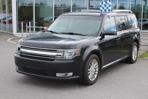 2013 Ford Flex SEL*AWD*7 PASS*BLUETOOTH*CAM RECUL*AC*CUIR*TOIT*