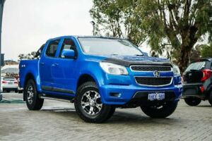 2015 Holden Colorado RG MY16 LS-X Crew Cab Blue 6 Speed Sports Automatic Utility