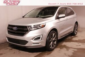 2016 Ford Edge Sport AWD MAGS NAV TOIT PANO CAMÉRA A/C AWD MAGS
