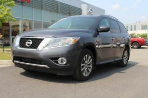 2014 Nissan Pathfinder SV AWD+MAGS+CRUISE+CD+COMM. AU VOLANT SV