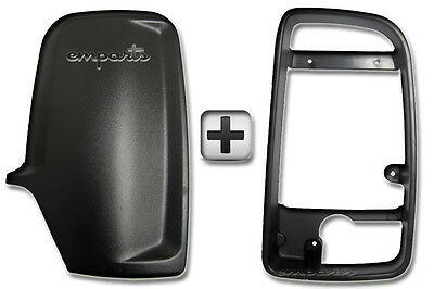 Sprinter Door Wing Mirror Black Back Casing Cover  Inner Frame Driver Right OS