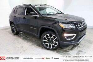 2017 Jeep Compass LIMITED+4X4+TOIT OUVRANT+NAV LIMITED+4X4+TOIT