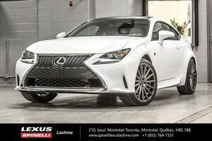 2017 Lexus RC 350 F SPORT II AWD; AUDIO TOIT GPS MOST EQUIPPED V