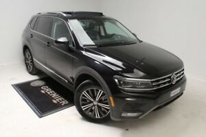2018 Volkswagen Tiguan HIGHLINE+CUIR+APPCONNECT+TOIT PANORAMIQUE