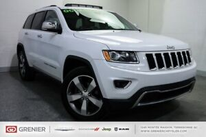 2016 Jeep Grand Cherokee Limited+CUIR+TOIT+4X4+8 PNEUS LIMITED+C
