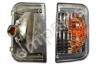 FIAT DUCATO PEUGEOT BOXER  2006 2020 Amber Wing Mirror Indicator Lens Right O/S