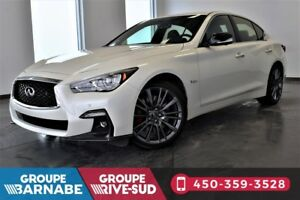2018 Infiniti Q50 3.0T AWD RED SPORT PROACTIVE 400 HP WOW !!