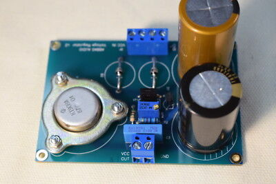 Voltage reg.PCB   abbasaudio TDA1541, PCM58, PCM63, AD1862, 300B, 45, 2A3