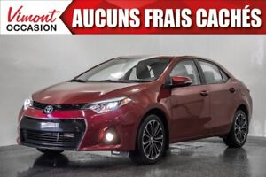 2015 Toyota Corolla 2015+S+TOIT+MAGS17+CAMERA RECUL+SIEGES CHAUF