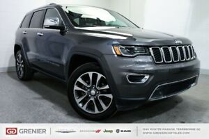 2018 Jeep Grand Cherokee Limited+4X4+TOIT PANO Limited+4X4+TOIT