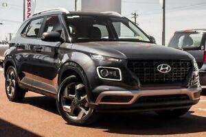 2020 Hyundai Venue QX.V3 MY21 Active Grey 6 Speed Automatic Wagon Maddington Gosnells Area Preview