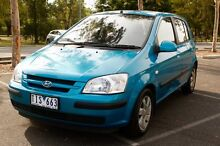 2005 Hyundai Getz Hatchback West Melbourne Melbourne City Preview