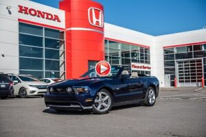 2012 Ford Mustang GT  CONVERTIBLE BAS MILLAGE  !!