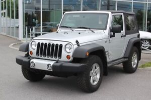 2012 Jeep Wrangler SPORT*4X4*2 TOITS*MANUELLE*AC*CRUISE*
