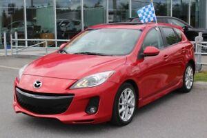 2013 Mazda Mazda3 GT*GPS*CUIR*TOIT*AC*BLUETOOTH*CRUISE*BOSE*CHAU