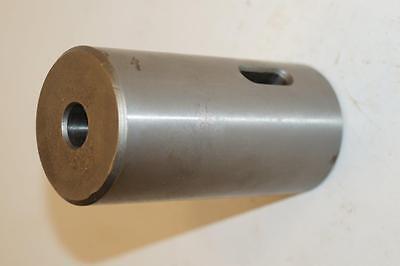 Nos Jones Shipman Uk Made 1-34 Hardened Turret Lathe Socket With 1 Mt.