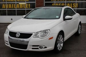 2009 Volkswagen Eos 2.0T Low KMs/Hard Top/Leather/Cruise
